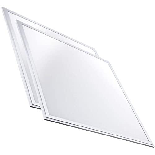 Pack 2x Panel LED 60x60 cm 48w. Color Blanco Neutro (4500K). 5000 Lumenes. Driver incluido.