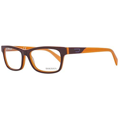 Diesel Brillengestelle DL5039 54050 Rechteckig Brillengestelle 54, Braun