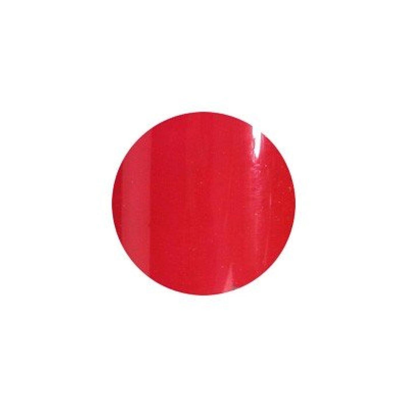 氷発行食料品店sacra カラージェル No.027 紅赤