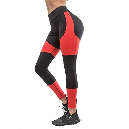HaiDean dameslegging voor sport, gymtas, chic jongens, kleur aansluitende gamassen, dik, yogabroek, joggingbroek