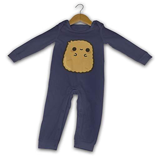 WushXiao Baby Crawler Nugget Nuggets, lang, Schwarz Gr. 12 Monate, navy