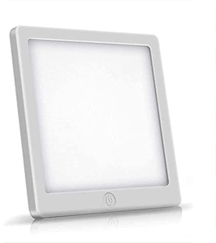 GQGQ Lámpara de Luminoterapia 10000 Lux Escritorio Lámpara con 2 Ajustable Brillo Libre de UV Espectro para Depresión Desorden del sueño Descompensación horaria Fauay