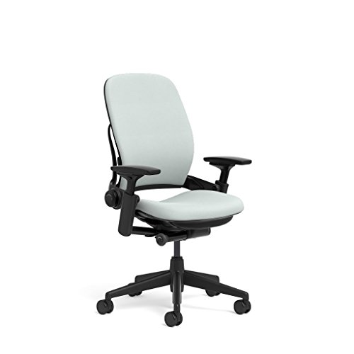 Steelcase Leap Ergonomic Office Chair with Flexible Back | Adjustable Lumbar, Seat, and Arms | Black...