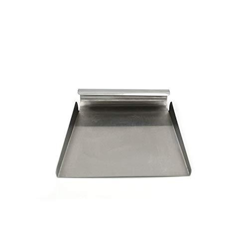 1pièce Ustensiles de Cuisine en acier inoxydable Bench Grattoir pâte à pizza Cutter Glace Pelle à farine à pâtisserie outils, argenté, Taille unique