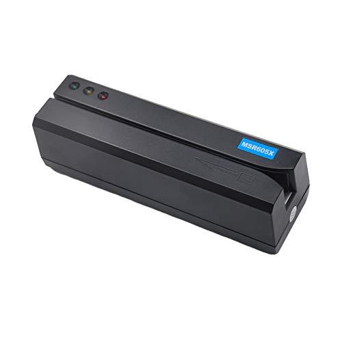Deftun MSR605X - Lettore USB di carte di credito con striscia magnetica USB MSR206