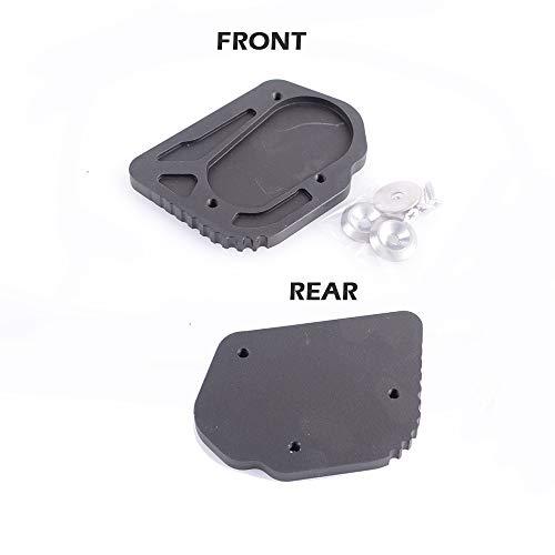 Plaque de rallonge pour plaque de protection CNC de haute qualité en aluminium pour béquille latérale en aluminium pour moto R 1200 GS 2013-2017 Smartbomb