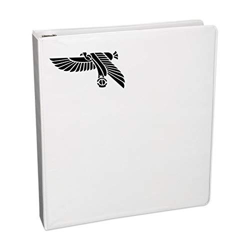 Aufkleber mit ägyptischer Vogel-Silhouette, für Notebook, Auto, Laptop, 14 cm (5,5 Zoll), Schwarz