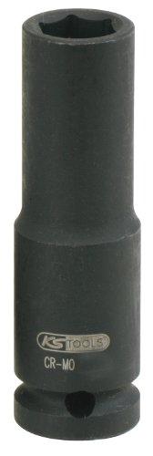 "KS Tools 515.1124 1/2"" Sechskant-Kraft-Stecknuss, lang, 24mm"