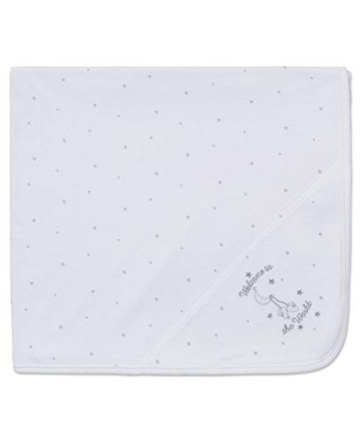 Little Me Unisex Baby Blanket, White, One Size