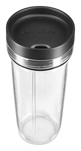 KitchenAid KSB1332BM 48oz, 3 Speed Ice Crushing Blender with 2 x 16oz Personal Jars to Blend and Go, Matte Black California