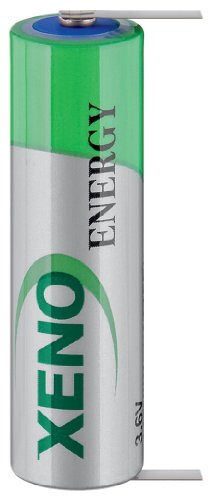 Xeno XL-060L T1 Pile lithium AA 3,6 V 2400 mAh (Import Allemagne)