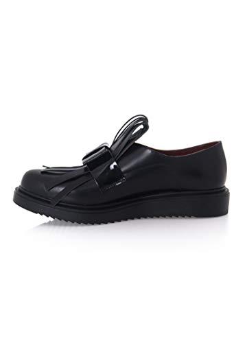Joyas - Oxford Schuhe - Catherine - für Frauen, handgefertigt aus Leder, bietet es dauerhaften Komfort (Schwarz, Numeric_38)