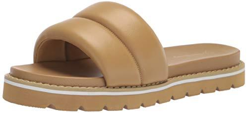 The Drop ISSI Sandales Matelassées Plates, Style Sportif, Sandals Femme