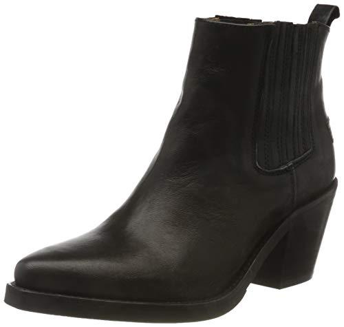Shabbies Amsterdam Damen IRIS Chelsea Boots, Schwarz (Black 0028), 42 EU