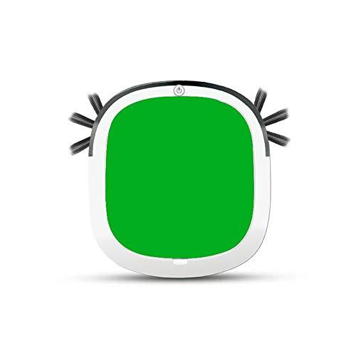 LG Snow Robot Aspirumeer, 45 dB Silent Limpieza Robot Sweeper 7.5 cm Cuerpo Poco Profundo, barrendero, Ideal para el Cabello de Mascotas, Pisos Duros y alfombras Medianas (Color : Red)
