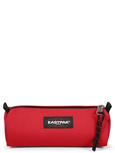 Eastpak Benchmark Single Astuccio, 21 cm, Rosso (Risky Red)