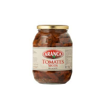 Aranca - Tomates Secos en Aceite - Auténtico Sabor Casero - Ideal para Ensaladas , Estofados , Carnes y Pescados 910 Gramos