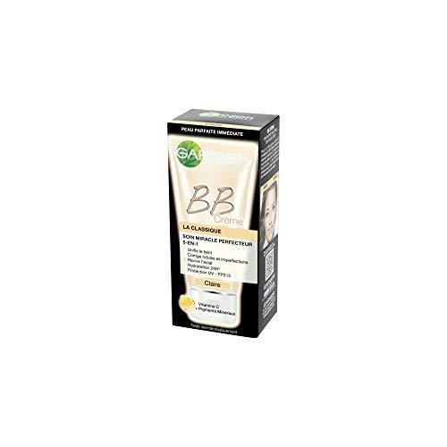 Garnier Skin Active BB Crème La Classique Claire Soin Miracle Perfecteur 5-en-1, Teinte claire