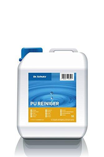 Dr Schutz PU Reiniger 5 Liter Bauschluss und Unterhaltsreiniger für Bodenbeläge, die PU Siegel behandelt wurden, Preis pro Pack