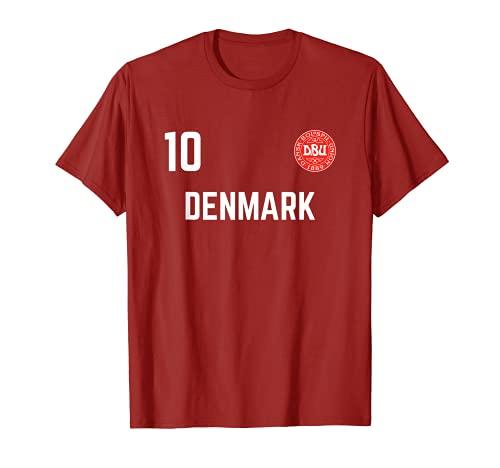Maglia da calcio della Danimarca 2020 2021 Euros squadra di Maglietta