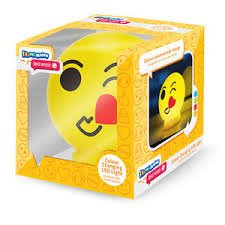 Holland Plastics Original Brand ILLUMI-Mate Emoji - 'Big KISS' - Portable Night Light- Perfect for Taking Camping, Holidays or sleepovers. Collect Them All by ILLUMI-MATE