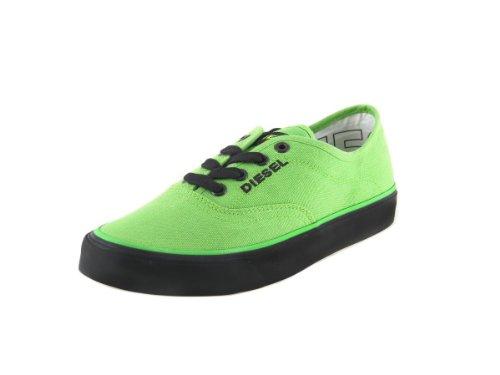 DIESEL Zapatillas Deportivas de Mujer Zapatos De Cordones Zapatos Verde #2 - Verde/Negro, 36 EU