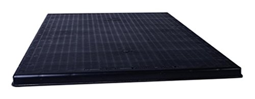Diversitech The Black Pad Plastic Equipment Pad for Pool and Spa Systems, 36' x 36' x 3', Black (ACP36363)
