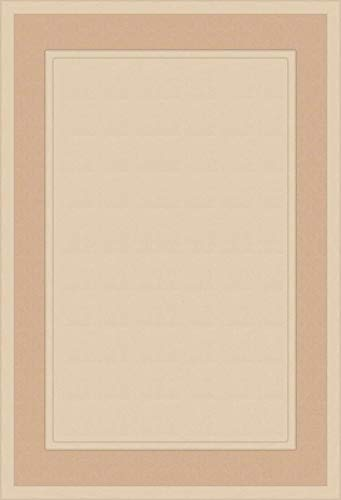 Unfinished MDF Square Flat Panel Cabinet Door by Kendor, 22H x 15W