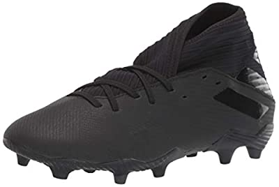 adidas Men's Nemeziz 19.3 Firm Ground Soccer Shoe, Utility Black, 10 M US