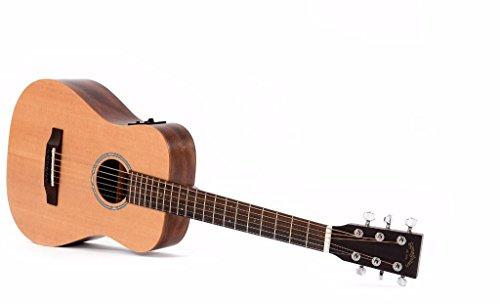 Sigma TM-12E Akustikgitarre Travel-Gitarre mit Tasche