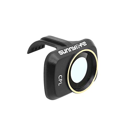 Hensych Filtro de lente de cámara para Mavic Mini/Mavic Mini 2/ Mini SE Drone,MCUV CPL ND Filtro NDPL de alta transmitancia Marco de modelado integrado (CPL)