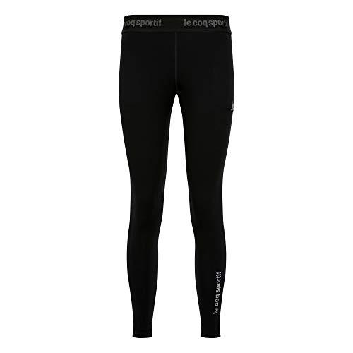 Le Coq Sportif Tech Legging N°1 W Mallas, Mujer, Black, M