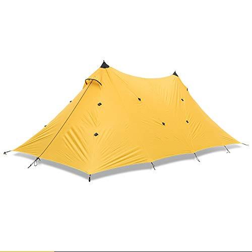 RongDuosi Oranje Dubbele Een Toren Super Grote Hemel Outdoor Regenschaduw Zon Luifel Tent Camping Pergola Buitenuitrusting Buitenuitrusting Zwembed