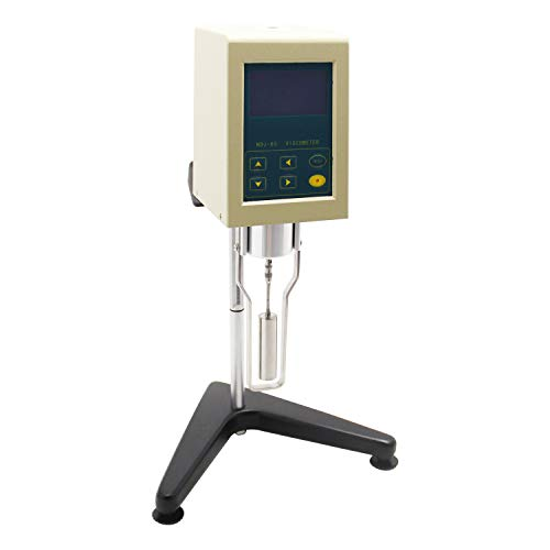 cgoldenwall Viskosimeter Digital Display Viskosität Tester Rotary Viskosität Messgerät Newton Liquid fluidimeter 220V, NDJ-8S, 1