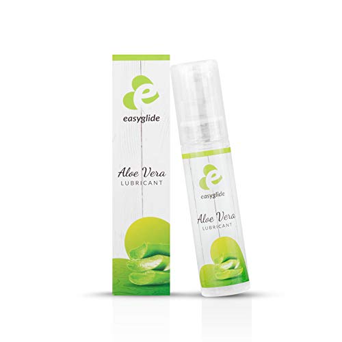 EasyGlide Aloe Vera Gleitgel (30ml) Gleitmittel mit pflegendem Aloe Vera & Calendula ohne Parabene