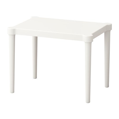 IKEA Children's Table, Indoor/Outdoor, White