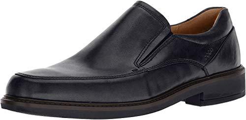 ECCO Men's Holton Apron Toe Slip On, Black, 43 EU/9-9.5 M US