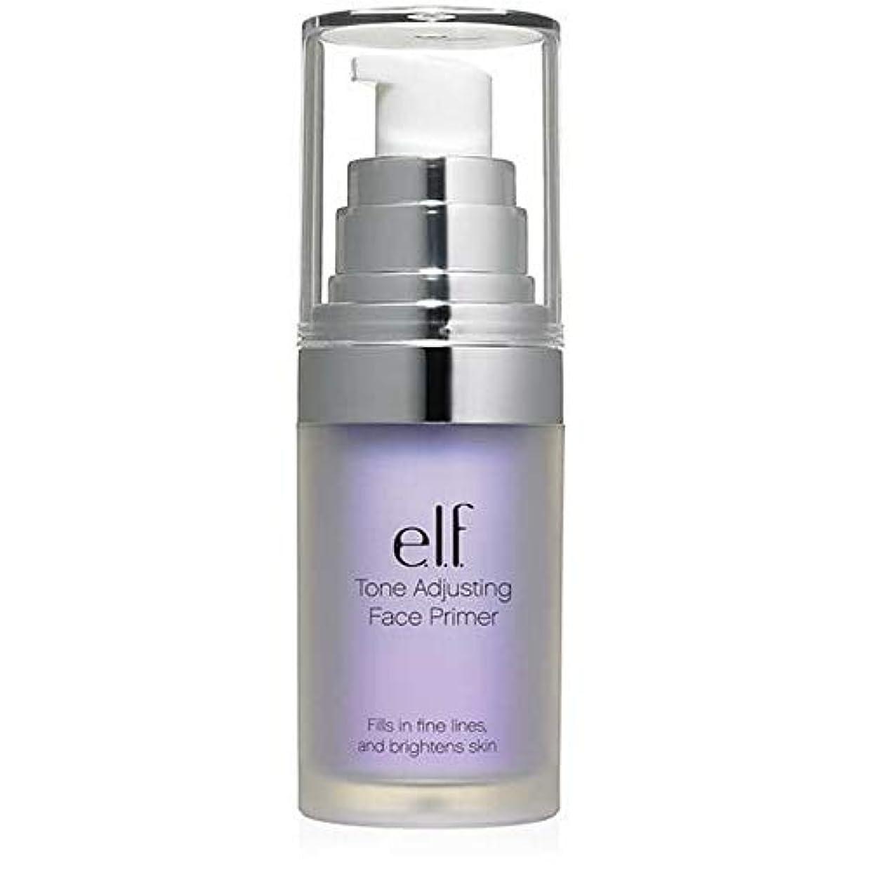 専門用語モック責任者[Elf ] エルフ。ラベンダー403を明るくトーン調整顔プライマー - e.l.f. Tone Adjusting Face Primer Brightening Lavender 403 [並行輸入品]
