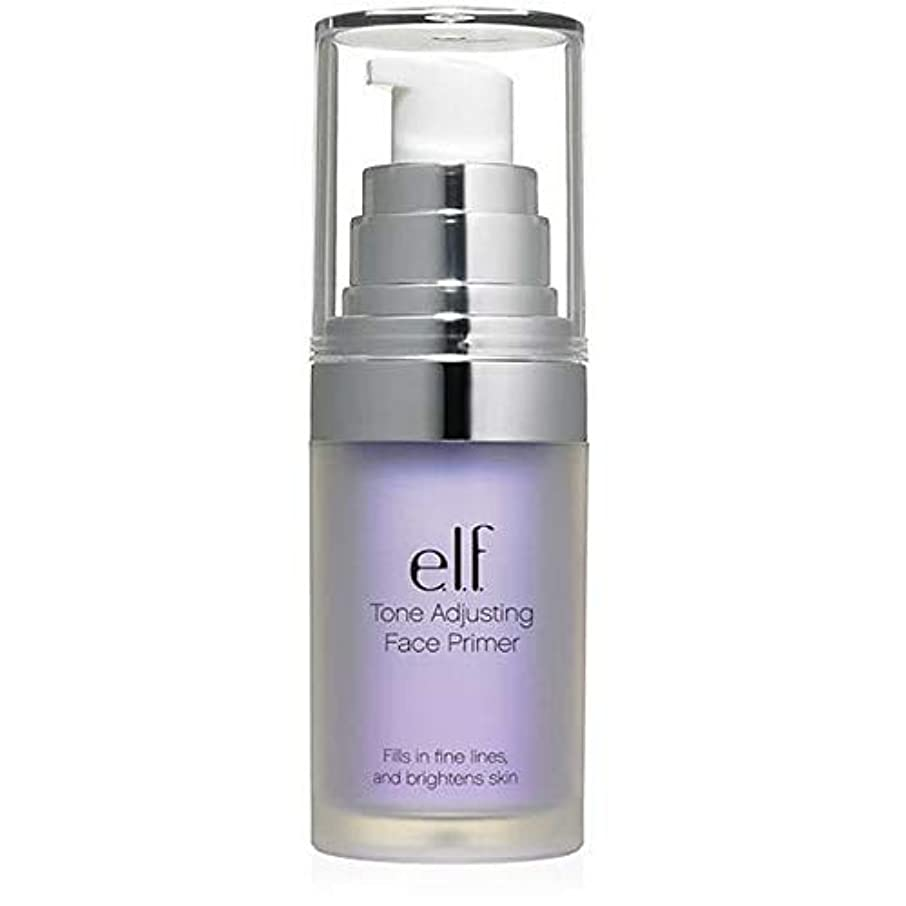 製造業中毒インタビュー[Elf ] エルフ。ラベンダー403を明るくトーン調整顔プライマー - e.l.f. Tone Adjusting Face Primer Brightening Lavender 403 [並行輸入品]