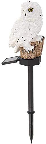 LINANNAN Owl LED Solaire Ceinture lumière, panneau Solaire LED, étanche IP65, Lampe décorative Solaire extérieur, pour pelouse, Jardin, décoration de Jardin