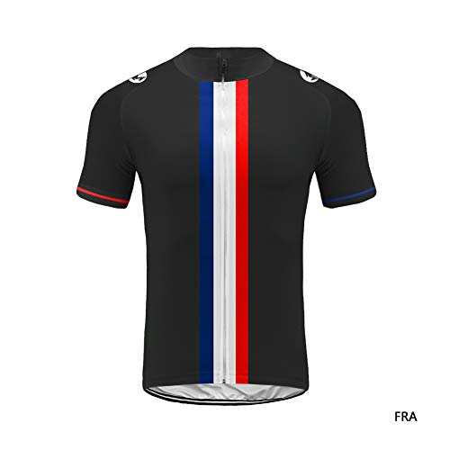 Uglyfrog Maillot Cyclisme Homme Manches Courtes Tenue Velo Equipe Pro