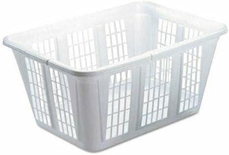 Fashionable Laundry Basket Plastic White 8 for C Baskets laundry Long-awaited Supplies