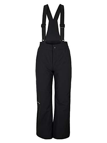 Ziener Kinder ALENKO Junior Skihose, Winterhose | Wasserdicht, Winddicht, Warm, Black, 164