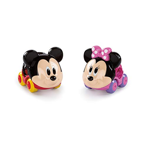 Bright Starts, Disney Baby Voitures Mickey & Minnie - Collection Go Grippers