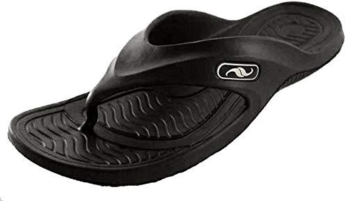 Gear One Men's Rubber Sandal Slipper Comfortable Shower Beach Shoe Slip On Flip Flop