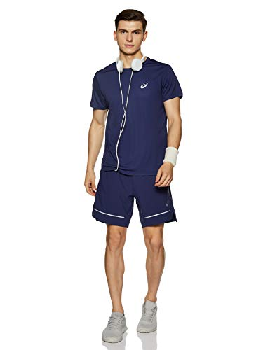 ASICS Lite-Show 7 Inch Running Shorts - Medium Blue