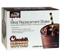 commercial Advocare Meal Exchange Shake Chocolate Peanut Butter 1 Pack 14 Pack advocare protein powder