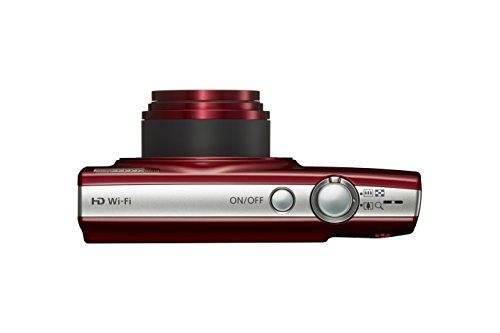 Canon PowerShot ELPH 190 Digital Camera w/ 10x Optical Zoom and Image Stabilization - Wi-Fi & NFC Enabled (Red)
