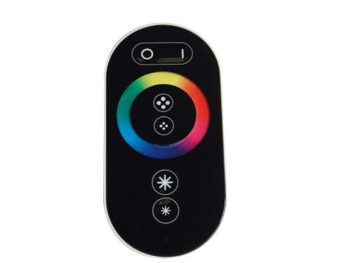 Funk LED RGB Controller | Dimmer für 12V oder 24V inkl. Funkfernbedienung mit One-Touch-Oberfläche