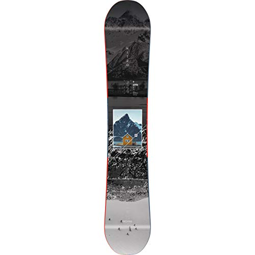 Nitro Snowboards Herren Team Exposure BRD'20 vielseitiges All Mountain Freestyle Board Snowboard, 162 Bunt, 162 cm